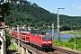 """LEW 20962 - DB Regio """"143 654-2"""" 22.06.2010 - Königstein (Sächs Schweiz)Torsten Barth"""