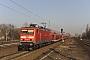 """LEW 21300 - DB Regio """"114 007-8"""" 04.03.2011 - Berlin-JungfernheideSebastian Schrader"""