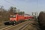 """LEW 21303 - DB Regio """"114 010-2"""" 17.01.2011 - Berlin, Lichterfelde OstSebastian Schrader"""