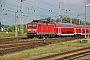 "LEW 21309 - DB Regio ""114 016-9"" 12.08.2006 - Rostock, HauptbahnhofJens Vollertsen"