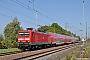 """LEW 21311 - DB Regio """"114 018-5"""" 07.05.2011 - WüstenfeldeAndreas Görs"""