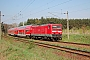 "LEW 21312 - DB Regio ""114 019-3"" 15.04.2009 - Ludwigsfelde, Bahnhof Genshagener HeideRudi Lautenbach"