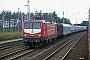 "LEW 21316 - DR ""112 023-7"" 25.08.1993 - Ludwigsfelde, Bahnhof Genshagener HeideIngmar Weidig"