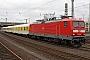 "LEW 21318 - DB Systemtechnik ""114 501-0"" 03.10.2009 - Düsseldorf, Hauptbahnhof Deep Sunrise"