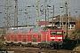 """LEW 21320 - DB Regio """"114 027-6"""" 07.11.2009 - Stralsund, Abzweig SRGPaul Tabbert"""