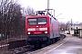 "LEW 21325 - DB Regio ""114 032-6"" 03.01.2003 - Augsburg HochzollFrank Weimer"