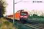 """LEW 21326 - DB Regio """"114 033-4"""" 03.04.2002 - Gnadau (Landkreis Schönebeck)Sebastian Schröder"""