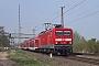 """LEW 21328 - DB Regio """"114 035-9"""" 24.04.2015 - Wolmirstedt-Glindenberg, AbzweigstelleRolf Kötteritzsch"""