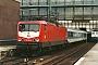 """LEW 21329 - DB """"112 036-9"""" 27.02.1993 - Bremen, HauptbahnhofHenk Hartsuiter"""