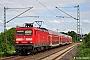 """LEW 21334 - DB Regio """"114 038"""" 22.06.2013 - Vellmar-Osterberg, EinkaufszentrumDieter Römhild"""